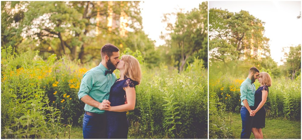 By Kara - Kara Evans - Chicago Engagement Photographer - Chicago Lincoln Park Engagement Session - Chicago Lincoln Park Nature Boardwalk Engagement Pictures - Summer Downtown Chicago Engagement Photos