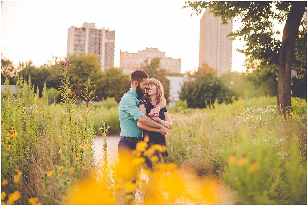 By Kara - Kara Evans - Chicago Engagement Photographer - Chicago Lincoln Park Engagement Session - Chicago Lincoln Park Nature Boardwalk Engagement Pictures - Summer Downtown Chicago Engagement Photos