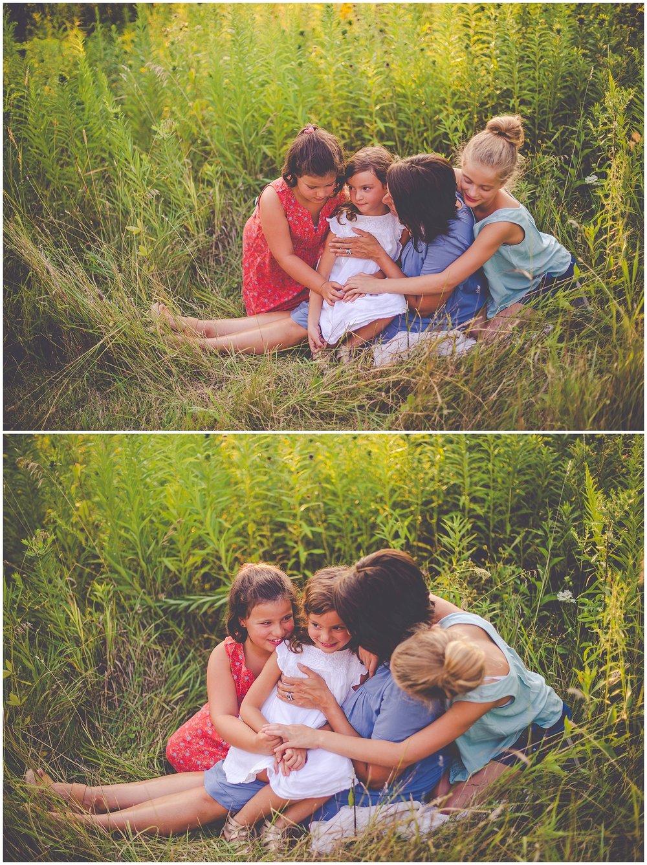 By Kara - Kara Evans - Deer Park Illinois Photographer - Deer Park Family Photographer - Chicago Family Photographer - Chicago Summer Family Sunset Session