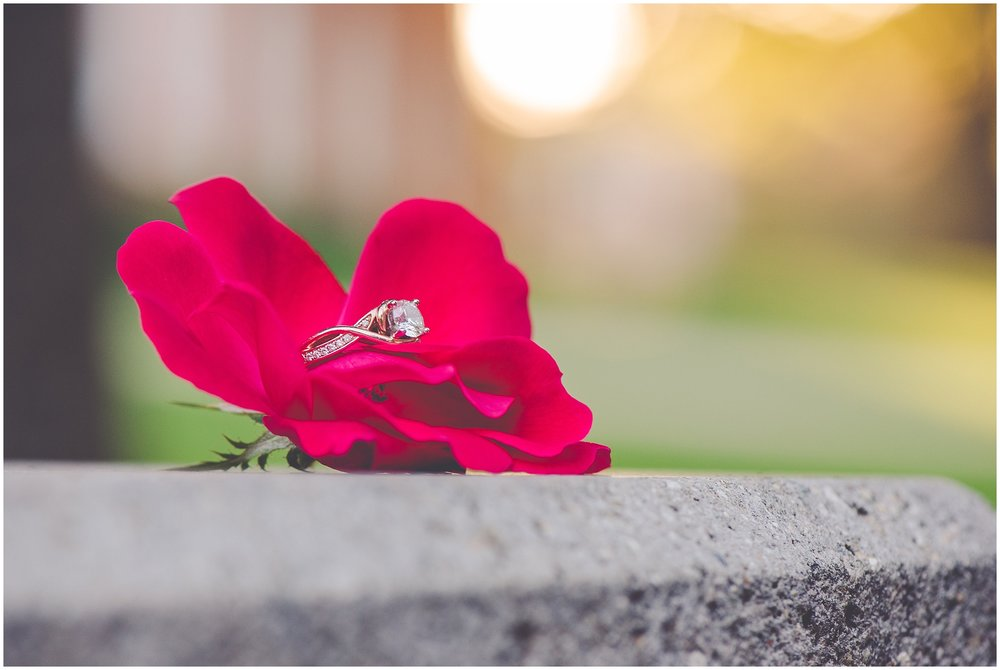 By Kara - Kara Evans - Central Illinois Wedding Photographer - Jacksonville, IL Wedding Photographer - Illinois College Engagement Session - Illinois College - College Sweethearts