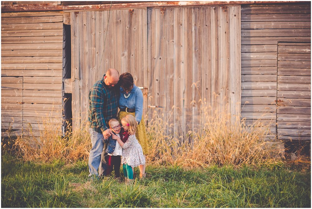 By Kara - Kara Evans - Central Illinois Family Photographer - Lifestyle Family Photographer - October Family Farm Session - Family Photographer