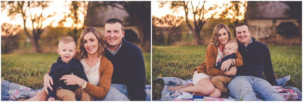 By Kara - Kara Evans - Illinois Family Photographer - Fall Family Farm Session - Griggsville, Illinois Photographer - Western Illinois Family Photographer