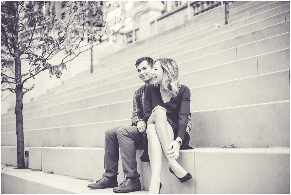 By Kara - Kara Evans - Chicago Riverwalk Photography Session - Chicago, Illinois Wedding Photographer - Chicago Riverwalk Engagement Session
