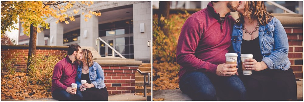 By Kara - Kara Evans - Central Illinois Wedding Photographer - Champaign Illinois Wedding Photographer - Champaign IL Engagement Session - University of Illinois Engagement Photos