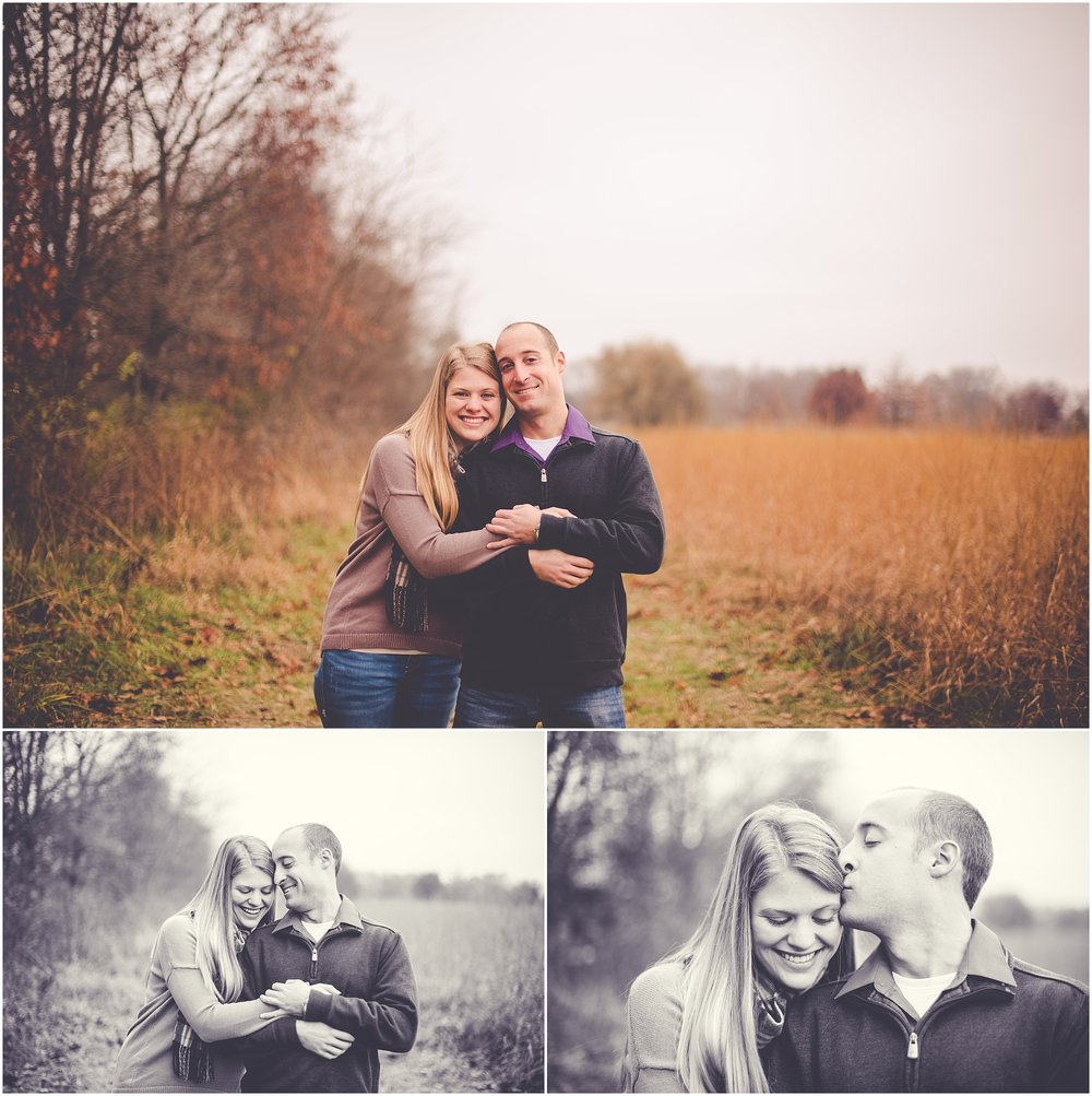 Kara Evans Photographer - Kara Evans - Bourbonnais, Illinois Photographer - Bradley Bourbonnais Wedding Photographer - Perry Farm Engagement Session - Kankakee Couples Photographer