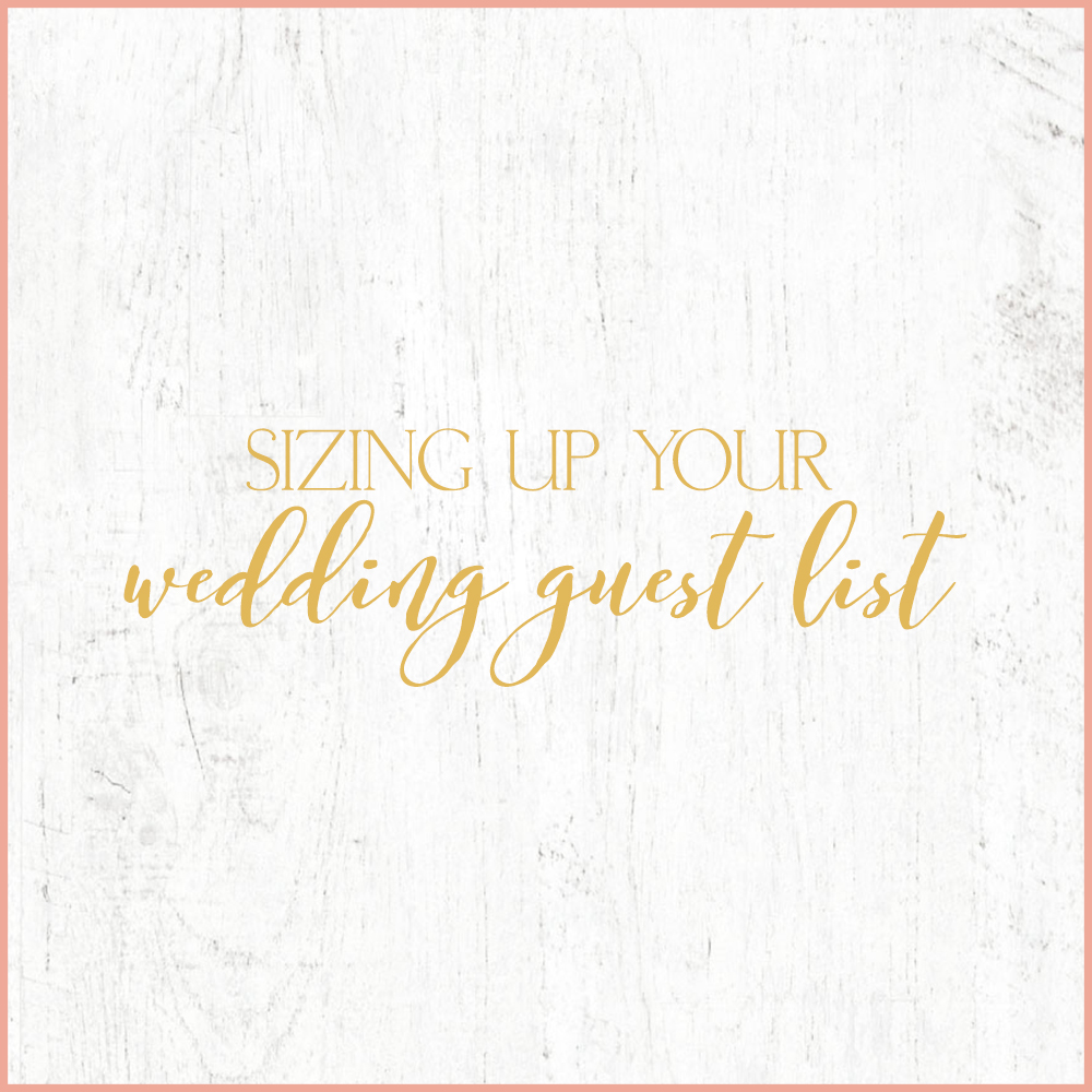 Kara Evans Photographer - Central Illinois Wedding Photographer - Sizing Up Your Wedding Guest List - Wedding Wednesday