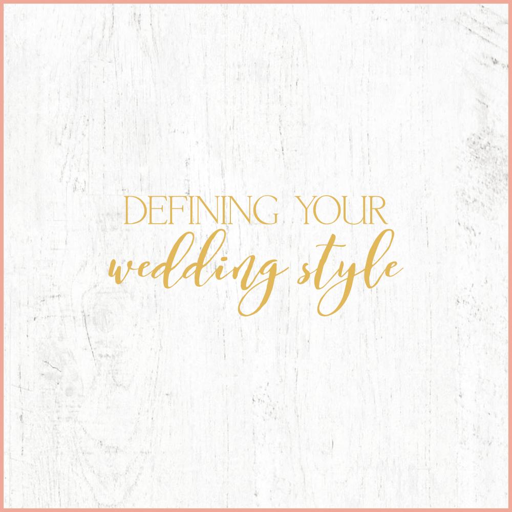 Kara Evans Photographer - Central Illinois Wedding Photographer - Defining Your Wedding Style - Wedding Wednesday