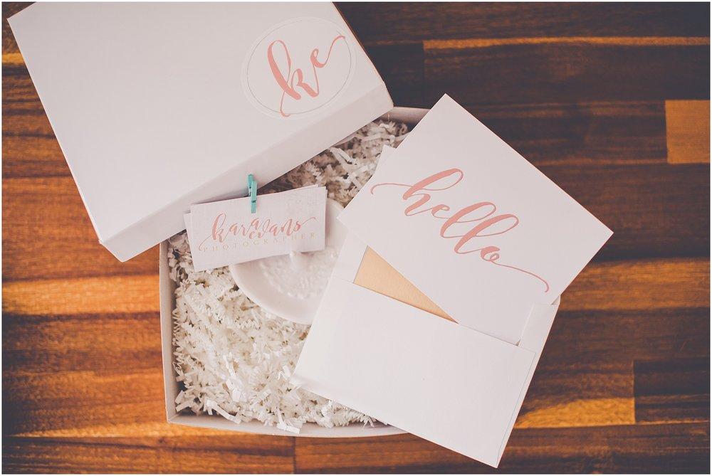 Kara Evans Photographer - Central Illinois Wedding Photographer - Wedding Photographer Gift Packaging