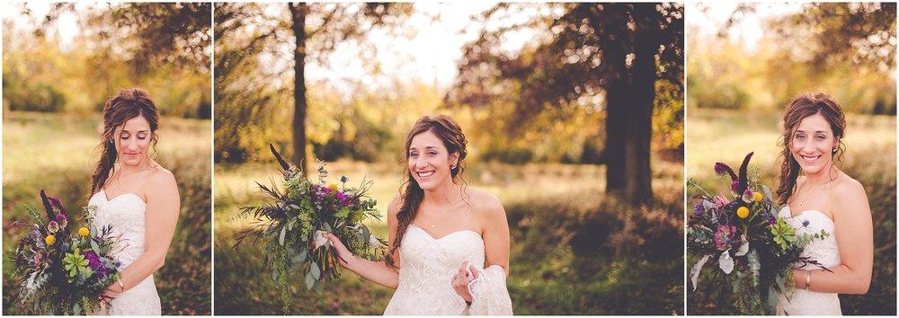 Kara Evans Photographer - Central Illinois Wedding Photographer - November Boho Wedding | Blushing Bridals