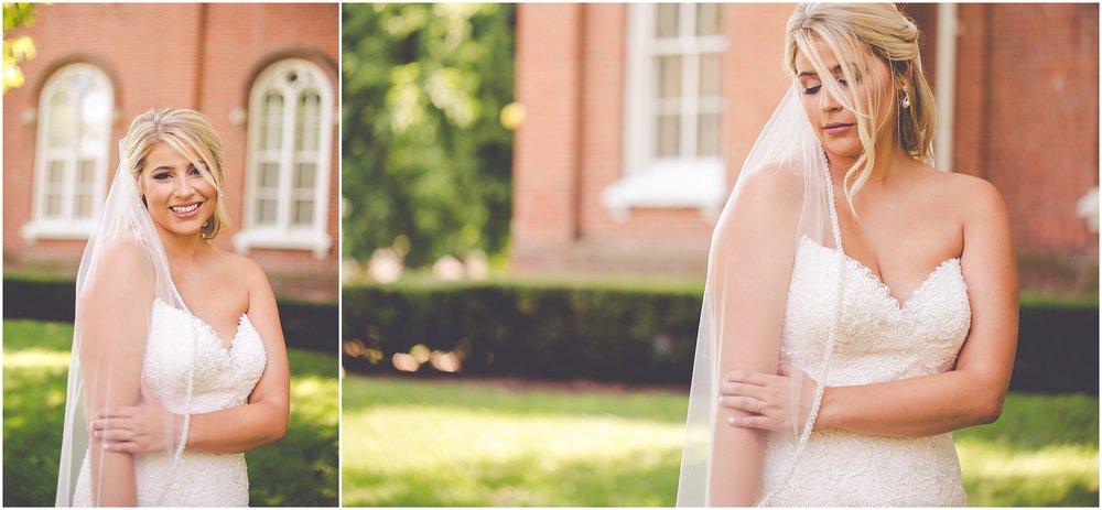 Kara Evans Photographer - Central Illinois Wedding Photographer - Pink + Gold Summer Wedding | Blushing Bridals