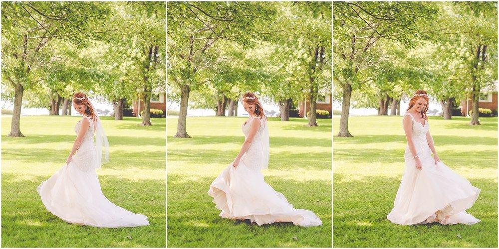 Kara Evans Photographer - Central Illinois Wedding Photographer - Summer Rustic Farm Wedding | Blushing Bridals