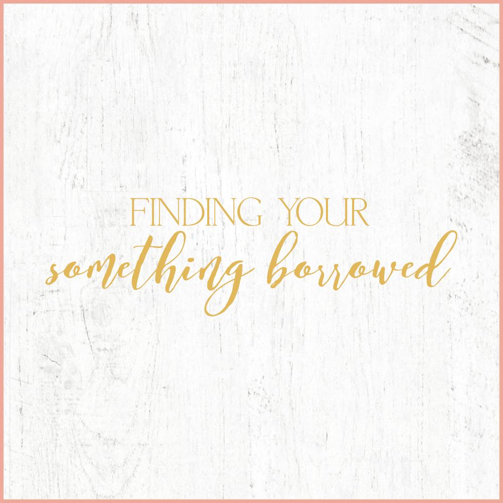 Kara Evans Photographer - Central Illinois Wedding Photographer - Finding Your Something Borrowed | Wedding Wednesday