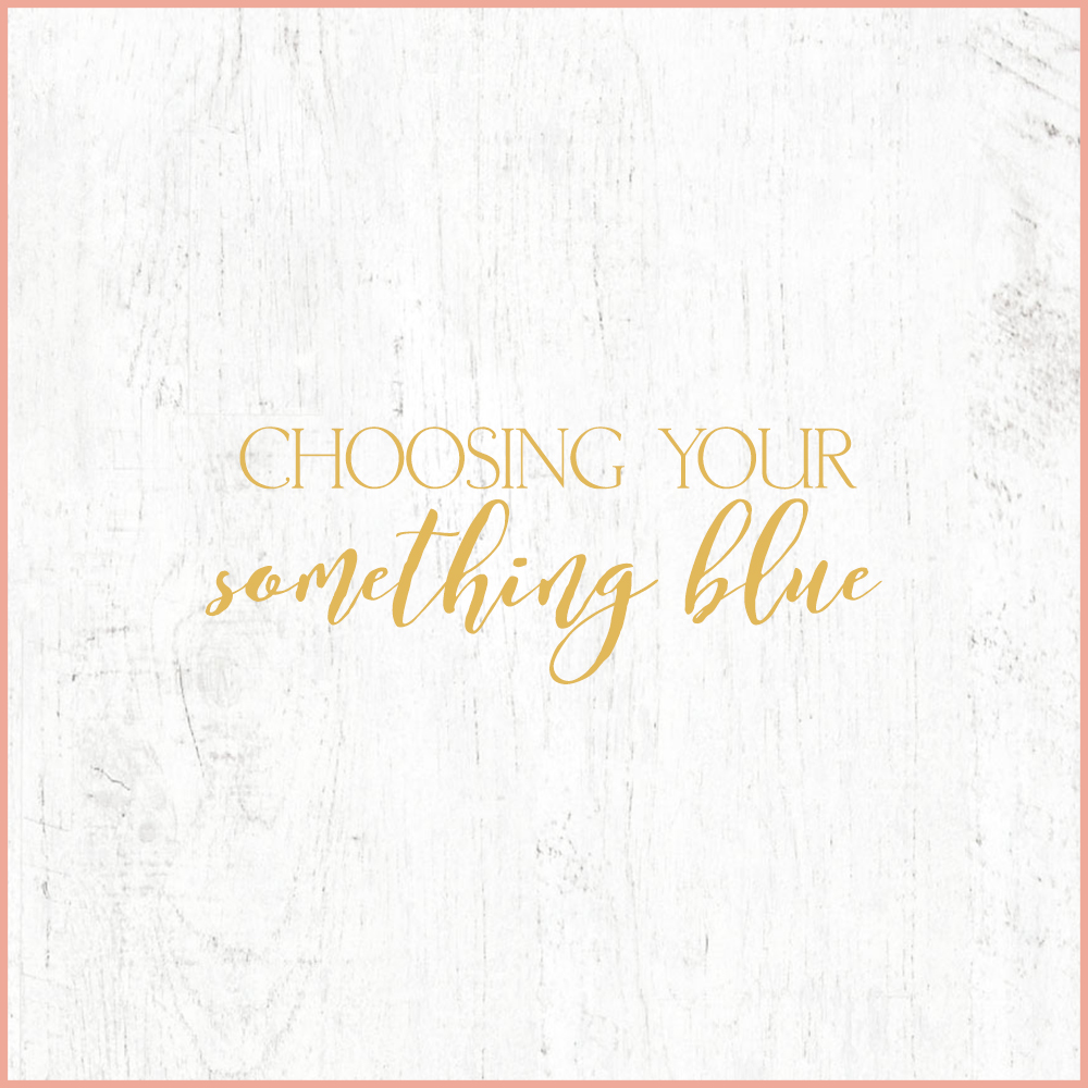 Kara Evans Photographer - Central Illinois Wedding Photographer - Choosing Your Something Blue | Wedding Wednesday