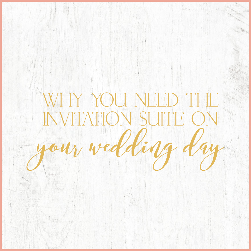 Kara Evans Photographer - Central Illinois Wedding Photographer - Why You Need the Invitation Suite on Your Wedding Day | Wedding Wednesday