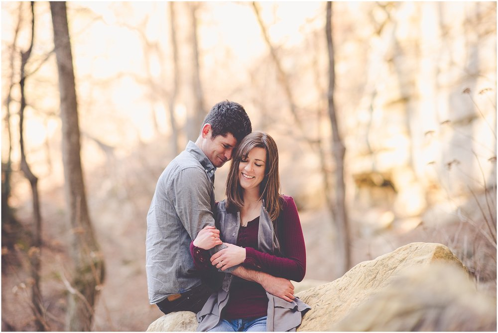 Kara Evans Photographer - Central Illinois Wedding Photographer - Starved Rock Engagement Session - Starved Rock Engagement