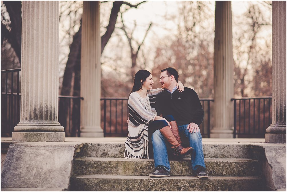 Kara Evans Photographer - Central Illinois Wedding Photographer - Winter Engagement Session - Springfield Illinois Wedding Photographer - Downtown Springfield Engagement Session