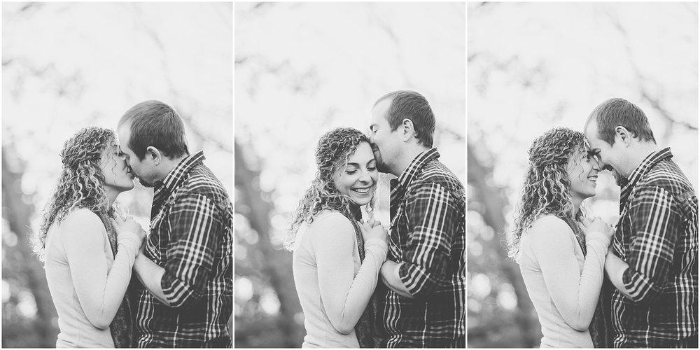 Kara Evans Photographer - Central Illinois Wedding Photographer - Springfield Engagement Session - Downtown Springfield Engagement Photos - Lincoln Park Engagement Photos