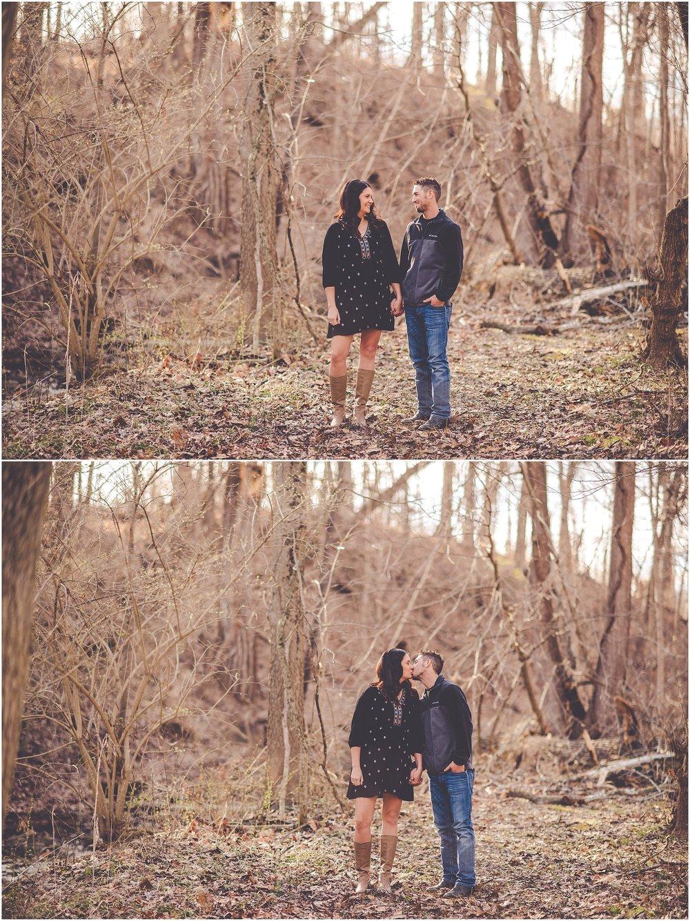 Kara Evans Photographer - Central Illinois Wedding Photographer - March Engagement Session - Streator Illinois Photographer - Spring Lake Nature Park Photos