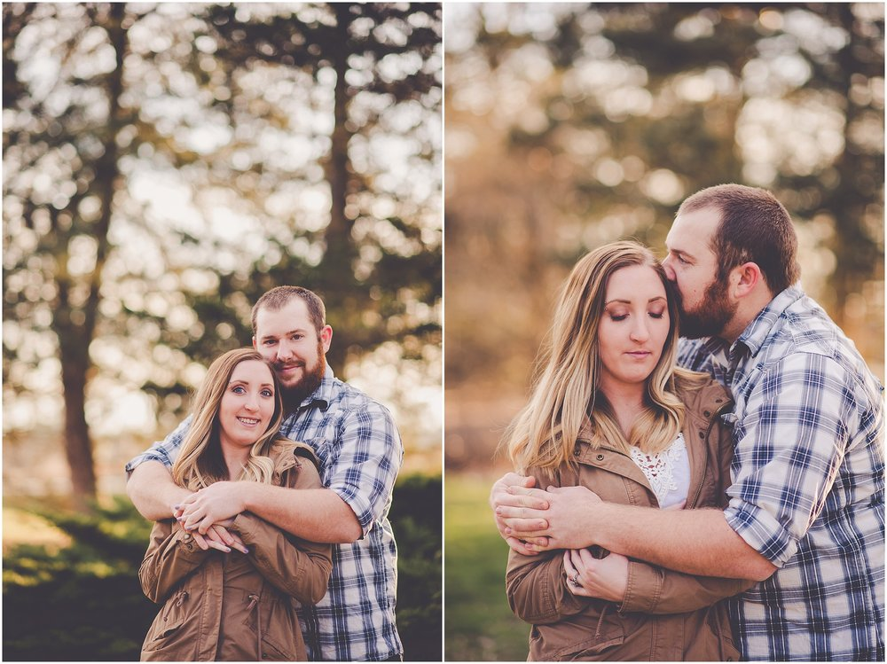 Kara Evans Photographer - Central Illinois Wedding Photographer - Mahomet Wedding Photographer - Lake of the Woods Engagement Session Mahomet IL