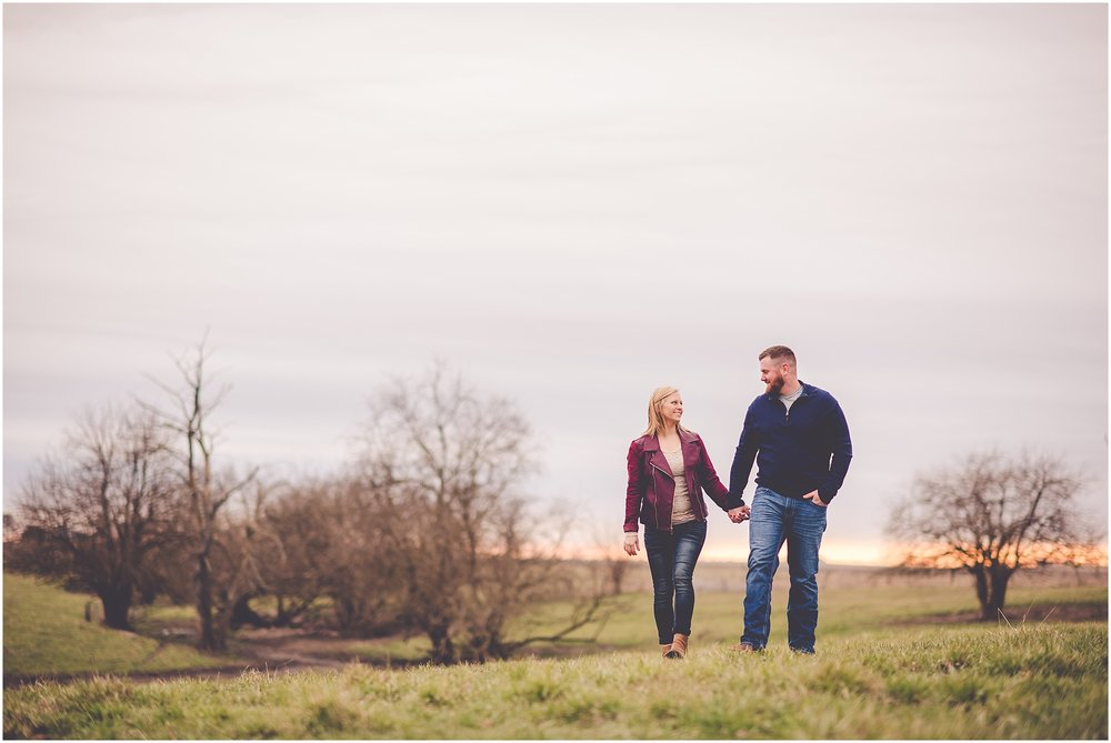 Kara Evans Photographer - Central Illinois Wedding Photographer - Watseka Illinois Engagement Session - Iroquois County Farm Engagement Session
