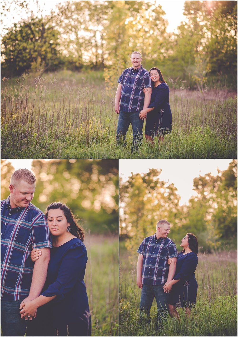 Kara Evans Photographer - Central Illinois Wedding Photographer - Kankakee Wedding Photographer - Spring Engagement Session - Kankakee County Wedding Photographer
