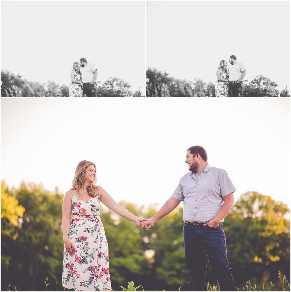 Kara Evans Photographer - Central Illinois Wedding Photographer - Spring Farm Engagement Session - Iroquois County Engagement Photographer