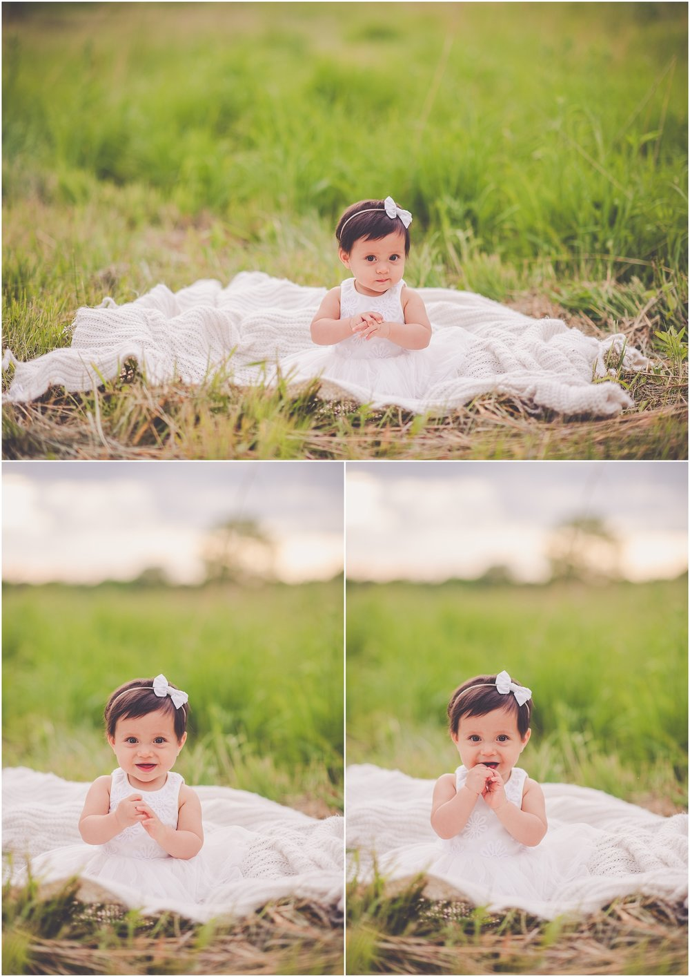 Kara Evans Photographer - Central Illinois Family Photographer - Bourbonnais Family Photographer - Ten Month Baby Session - Summer Lifestyle Family Session