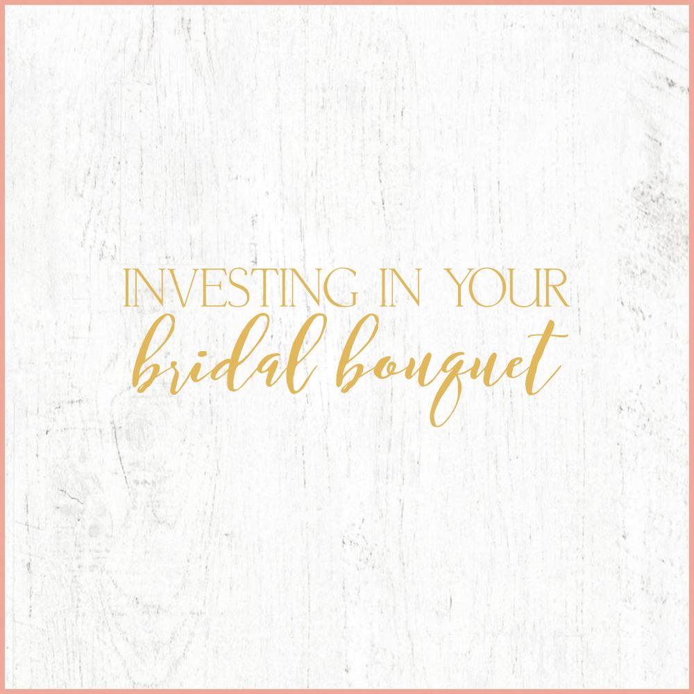 Kara Evans Photographer - Central Illinois Wedding Photographer - Investing in Your Bridal Bouquet | Wedding Wednesday