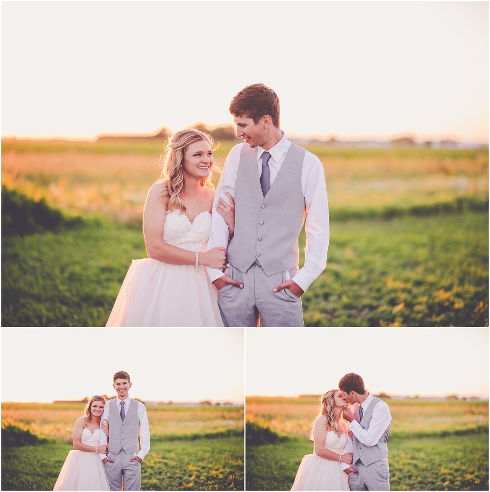 Kara Evans Photographer - Central Illinois Wedding Photographer - Iroquois County Wedding Photographer - Cissna Park Wedding - Rural Rustic Wedding - Earthy June Wedding