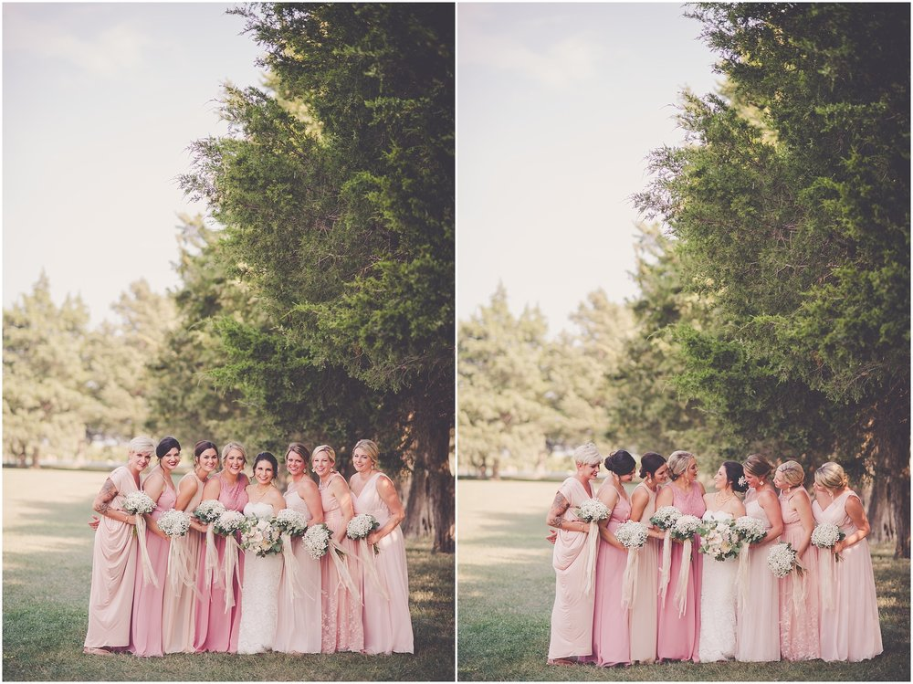 Kara Evans Photographer - Central Illinois Wedding Photographer - Cedar Lake Cellars Wedding Day - Winery Wedding Photographer - Winery Wedding Day - Blush Pink and Gray Wedding Day