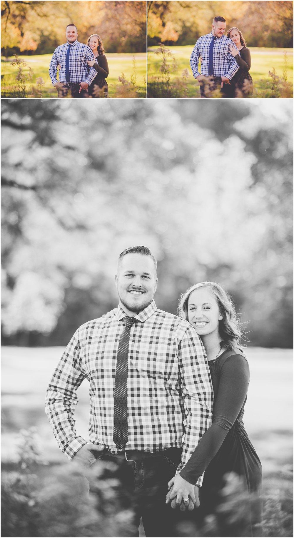 Kara Evans Photographer - Central Illinois Wedding Photographer - Iroquois County Engagement Photographer - Fall Engagement Photos - Fall Farm Engagement Photos