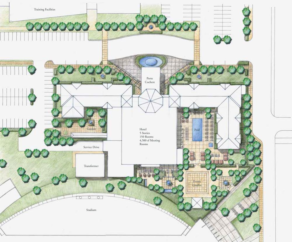 EMBASSY SUITES AT HOME DEPOT CENTER — PRIMATERRA STUDIO