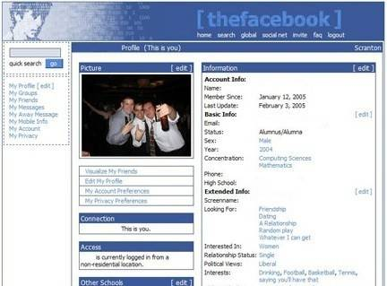 "Ah, the simpler days.  [side note: during this search, I found a post entitled, ""tips on using Facebook for Catholics."""
