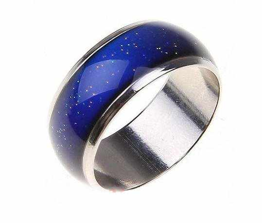 In other news, I'm going out to buy myself a mood ring.