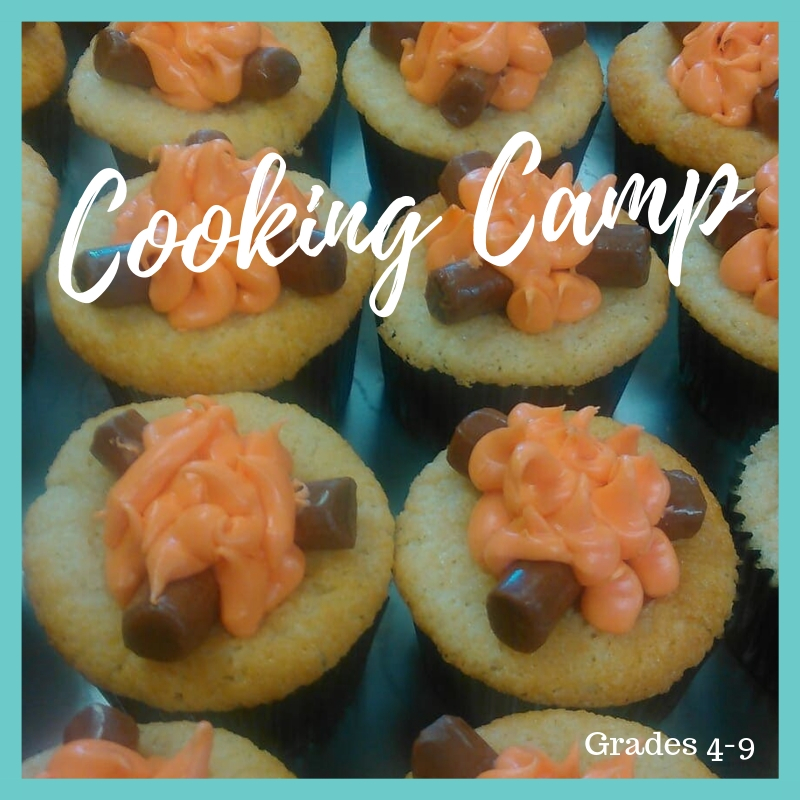 ^COOKING CAMP: ENTERING GRADES 4-9