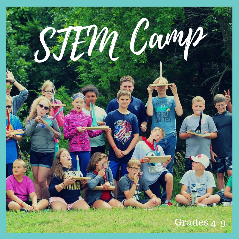 ^STEM CAMP: ENTERING GRADES 4-9.