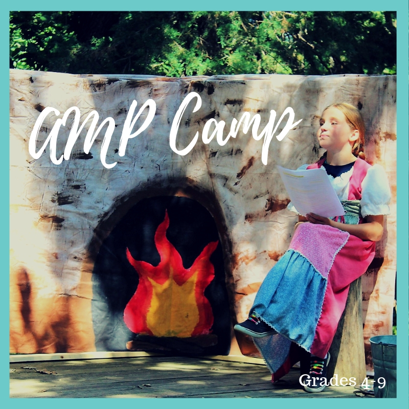^AMP CAMP: ENTERING GRADES 4-9.