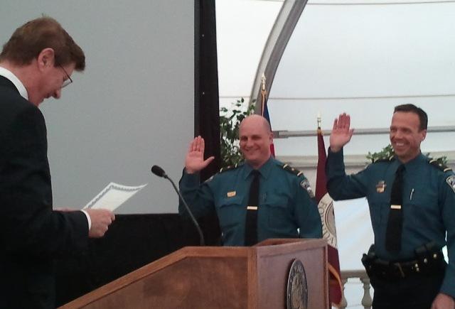 Lieutenant Bob Weber, Lieutenant Mike Velasquez, Sergeant Joe Matiatos
