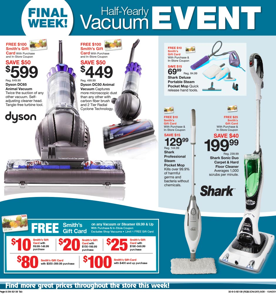 Fred Meyer Page Layout-Weekly Circular Ads