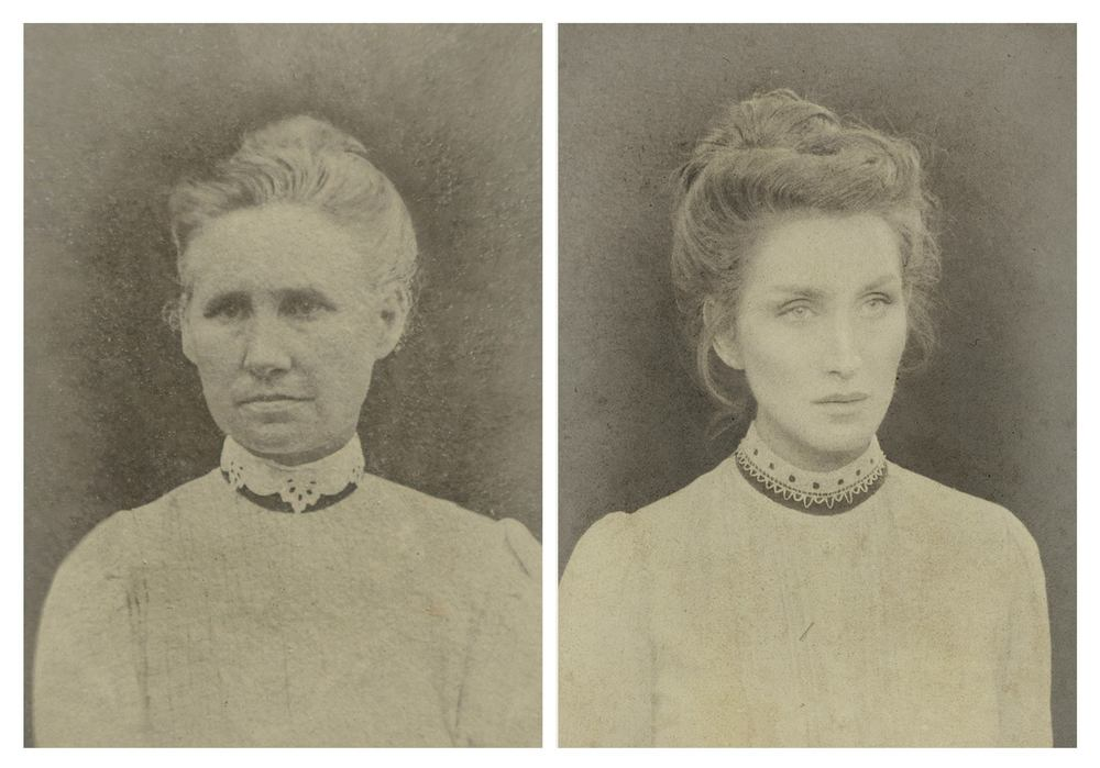 Christine's great-great-grandmother Jane, born 1858