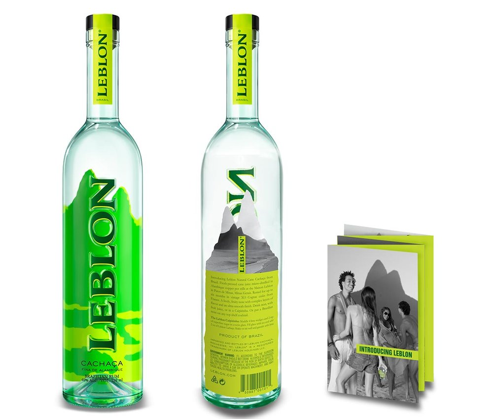 Packaging Leblon Cachaça