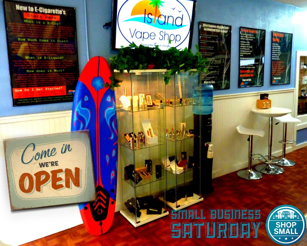 island_vape_shop_clearwater_beach_small_business_saturday_were_open_ecig_store.jpg