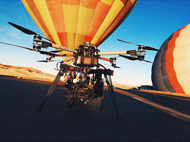 middle header for commercial drone pilot services