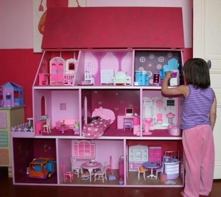 Maison barbie tuto