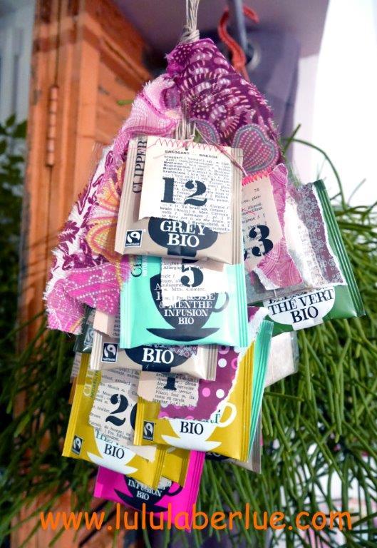 Tea Advent Calendar DIY