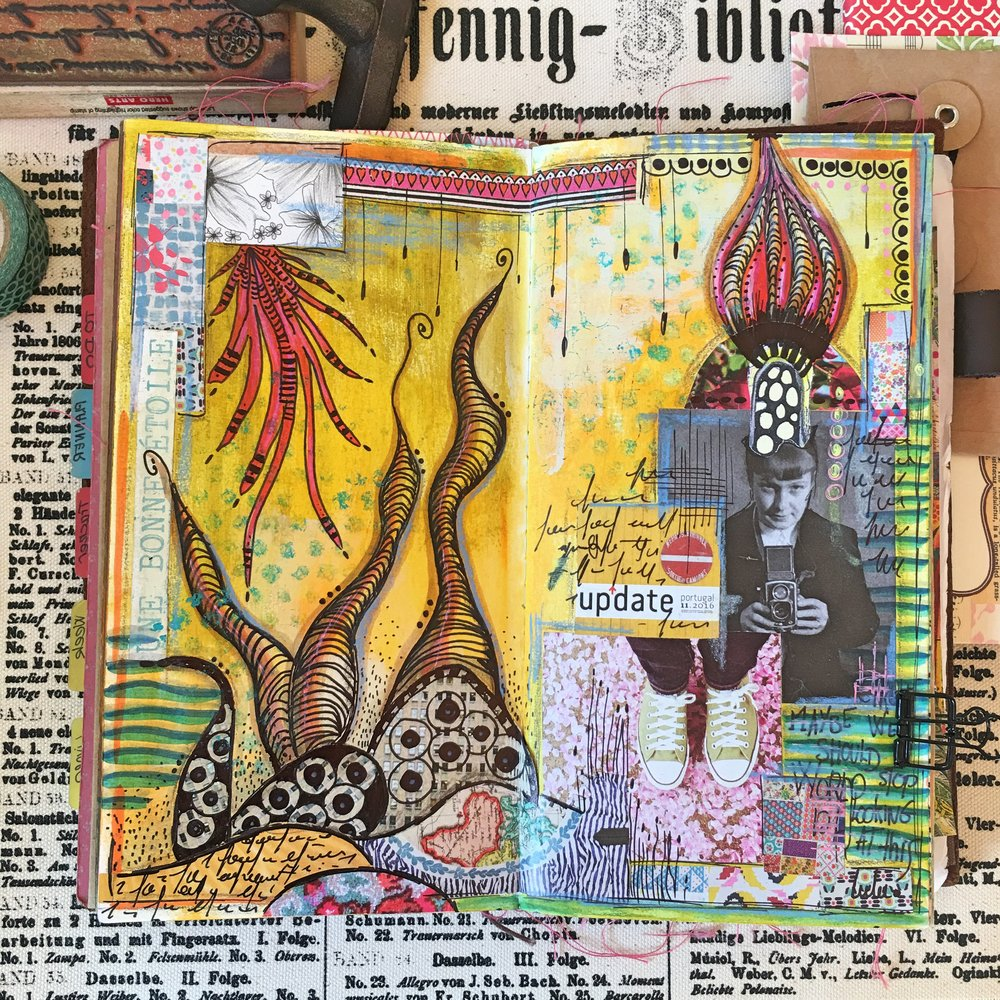 #1 - ART JOURNAL (CANSON)