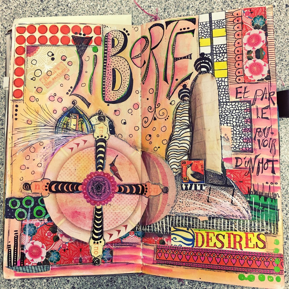 Midori, Art Journal Insert