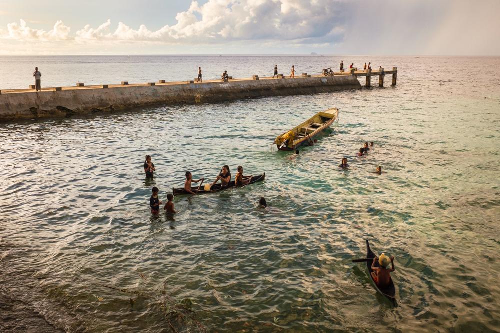 Pulau Ay, Banda, Indonesia