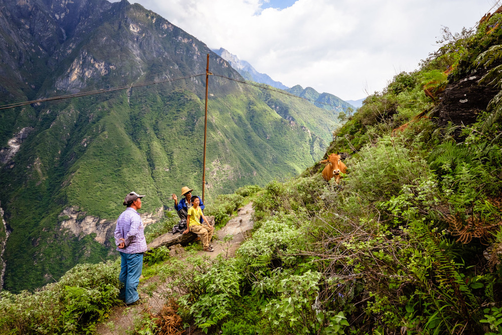 Tiger Leaping Gorge, Yunnan Province, China
