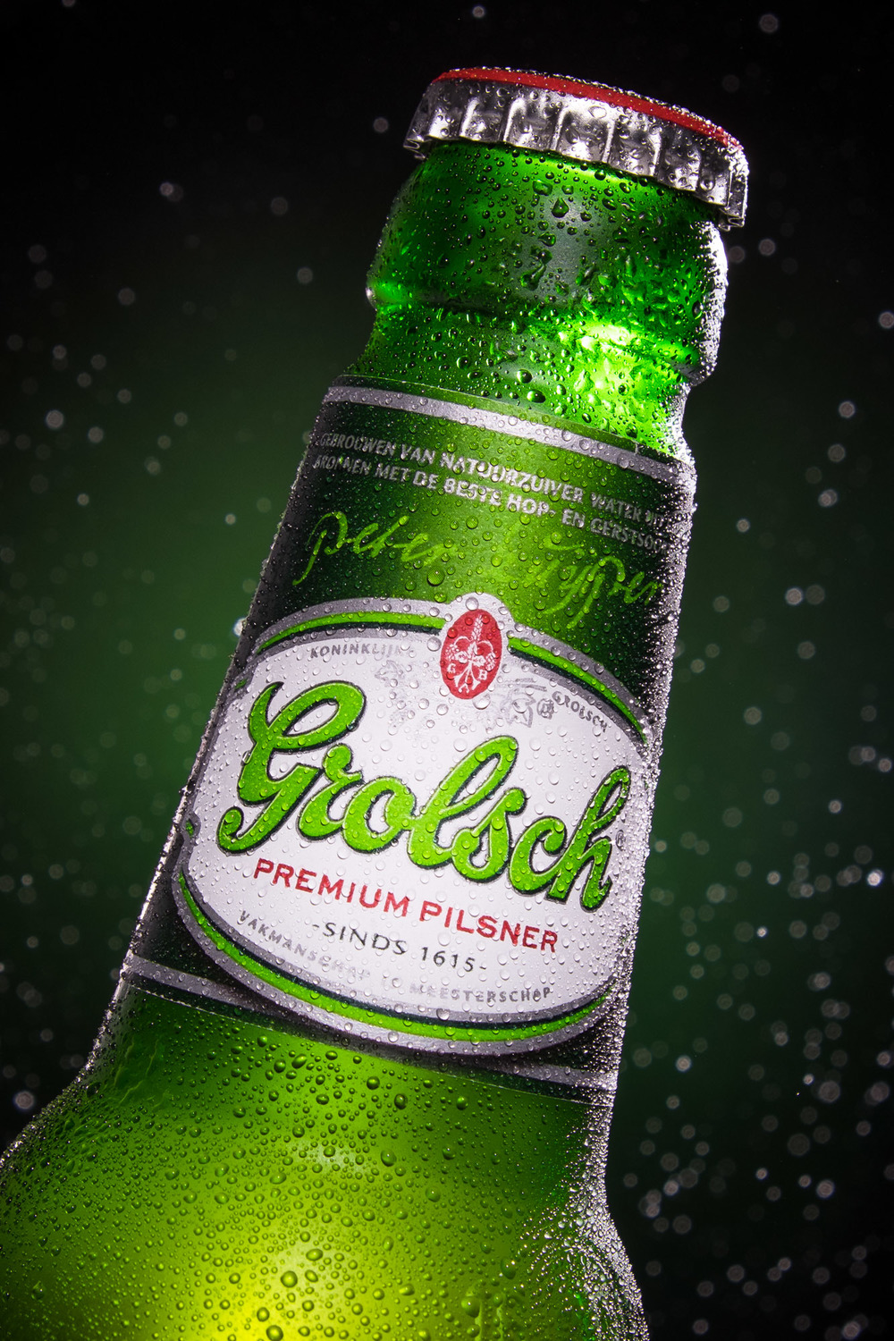 Grolsch beer bottle